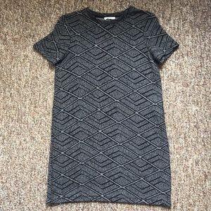ZARA Printed Short Sleeve Dress